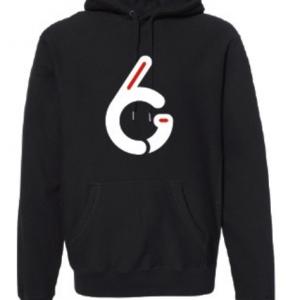 G6 Athletes Black Hoodie